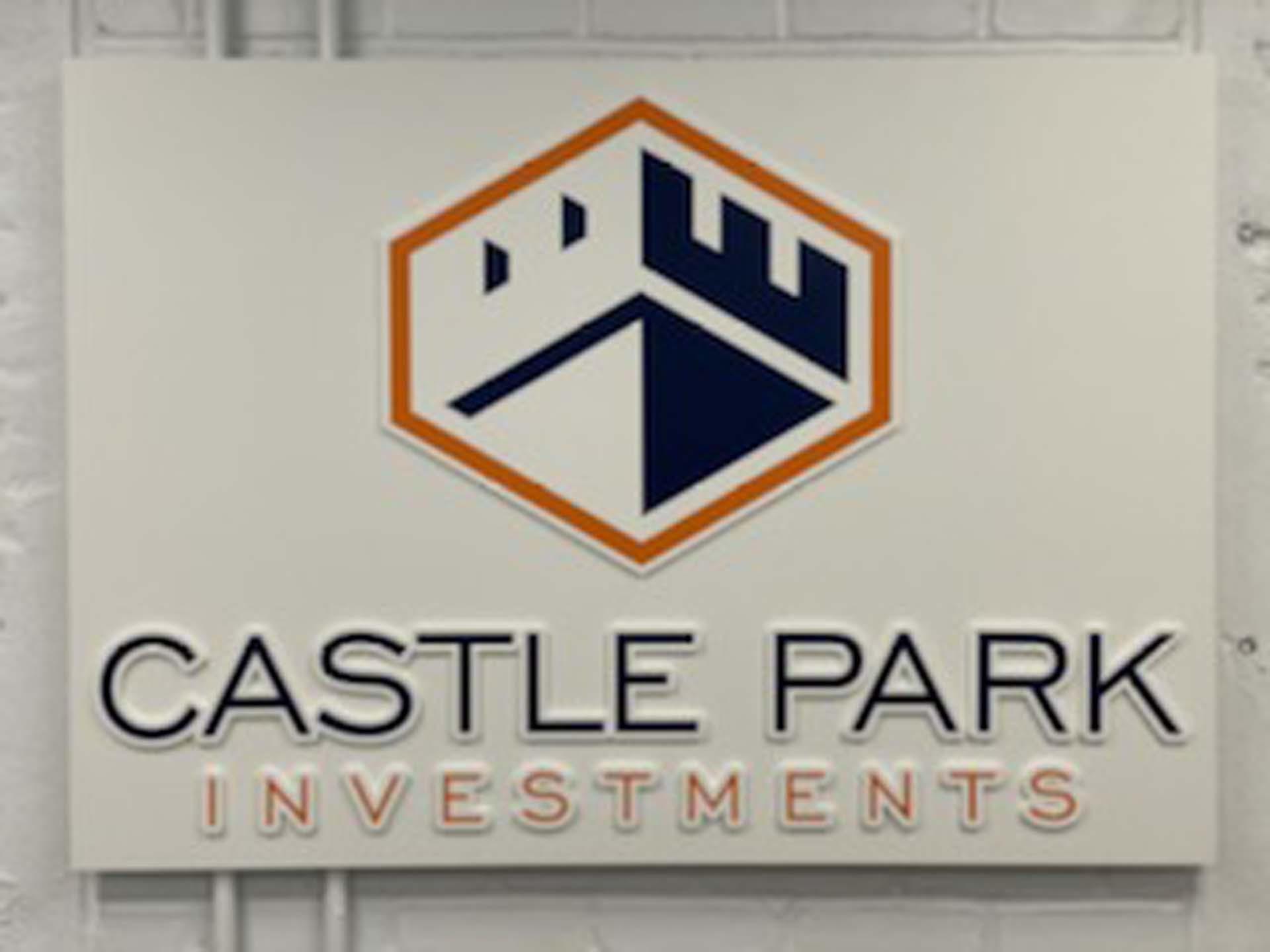 Castle Park Signage
