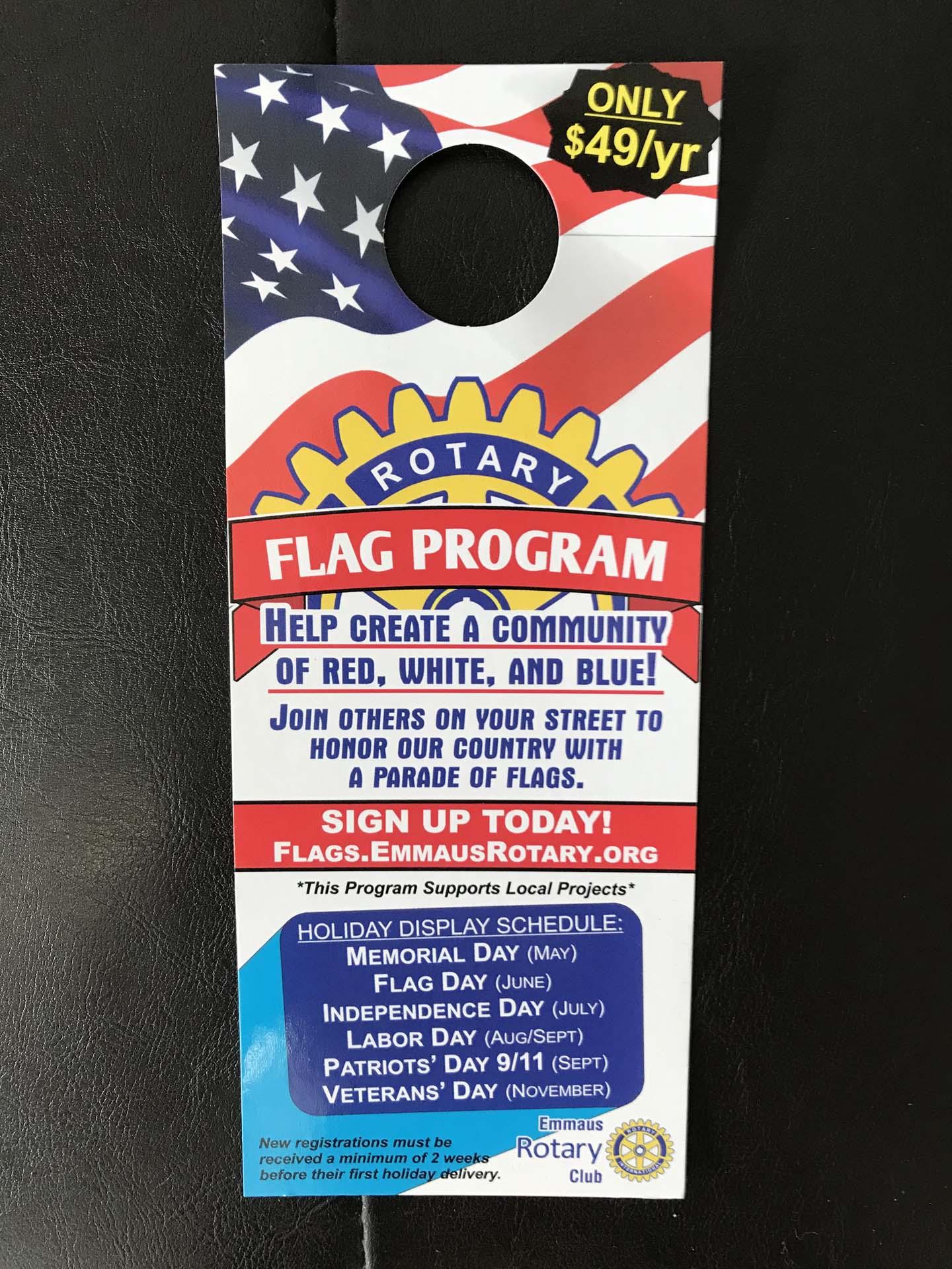 FlagProgram front
