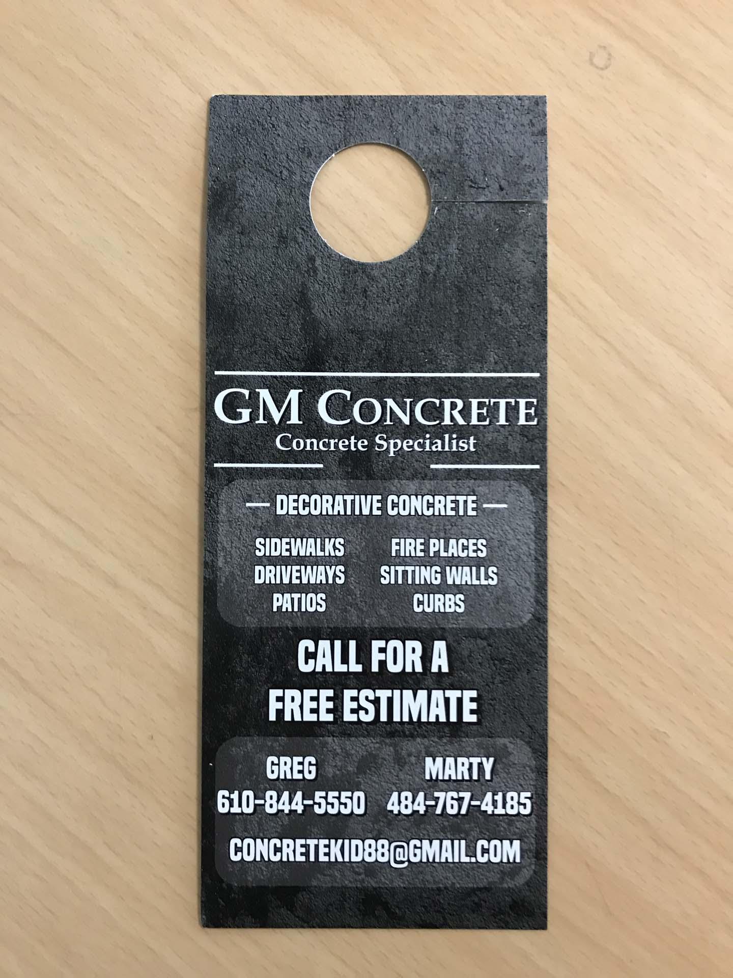 GM Concrete